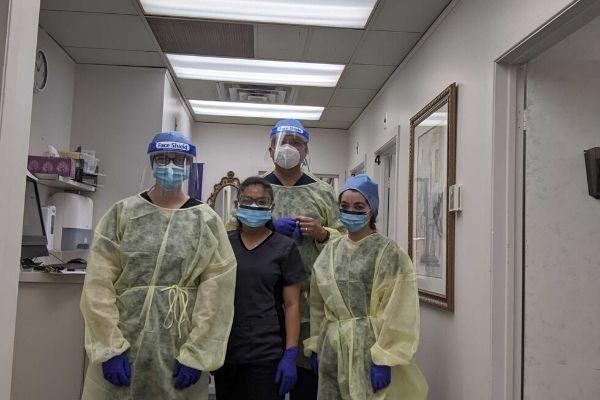 Upper James Foot Clinic Staff